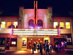 Outside view of the historic Buskirk-Chumley Theater in Bloomington, IN.