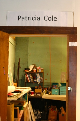 Entrance to the studio
