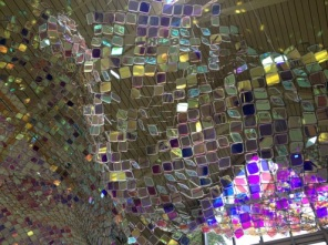 Close up of installation