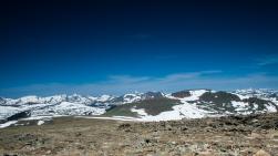 Trailridge Road in the Tundra