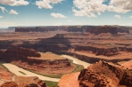 Colorado River from Dead Horse Point, Utah