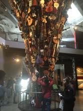 Guitar tower inside the EMP