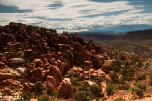The Fiery Furnace--Arches National Park, Utah