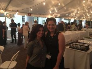 Sara with Ana Cristina Abrantes,, Artistic Coordinator